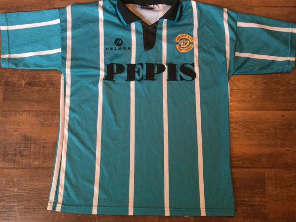 1993 1994 Hull City Away Football Shirt Adults Large